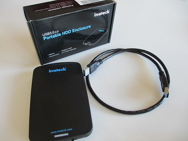 Inateck USB 3 Portable HDD Enclosure
