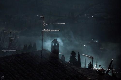 Montepulciano: camino fumante