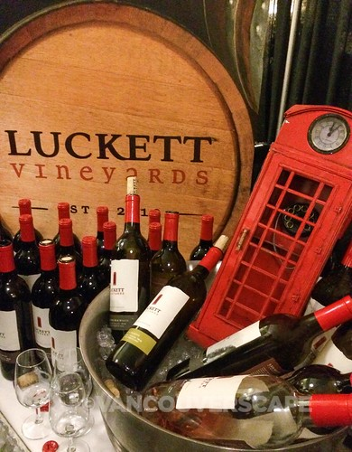 Luckett Vineyards and the red phone booth
