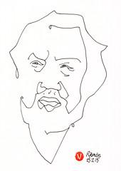Ramón #ADrawingADay, #Drawing, #Jkpp, #JuliaKaySPortraitParty, #Portrait