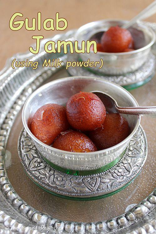Milk Powder Gulab Jamun | Gulab Jamun Recipe