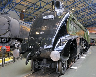 LNER 4496 4-6-2 Pacific 'Dwight D Eisenhower' streamlined steam locomotive 1937 - National Railway Museum, York, England