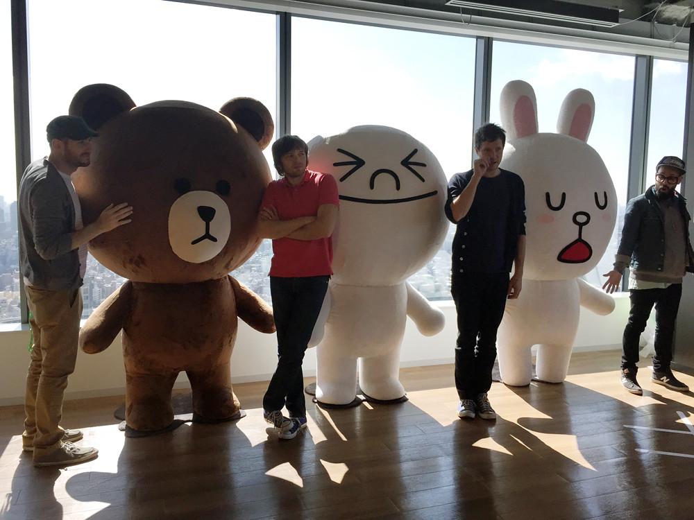 OK Go @LINE 4