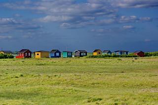 Dänemark - Häuser am Strand