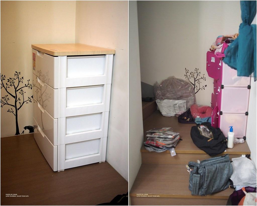 P3060398█【收納】小童衣物收納術。日本IRIS四層抽屜收納櫃