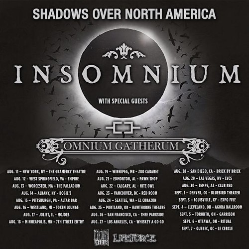 Insomnium at Empire