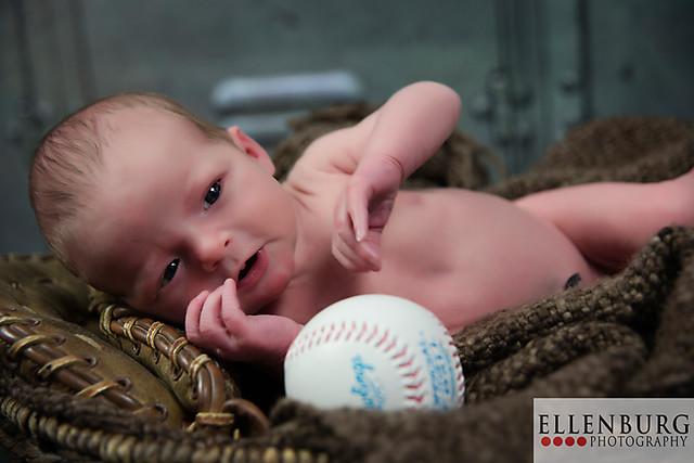 Baby Photographer | Mobile Alabama | Baby Boy | 6 days | Ellenburg Photography | 150307 Clinton-1180