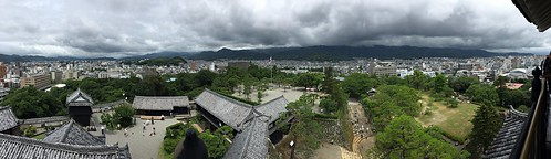 summer weather japan clouds asia view july 10th viewpoint kochi 2016 高知 kochicastle 高知県 kochishi