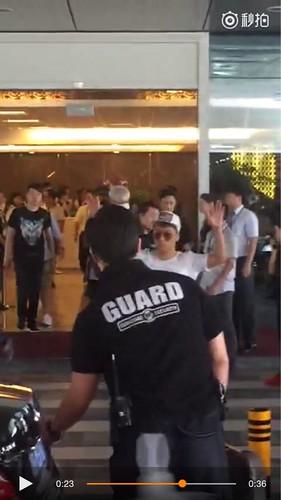BIGBANG lArrival Shenzhen from Seoul 2015-08-07 004
