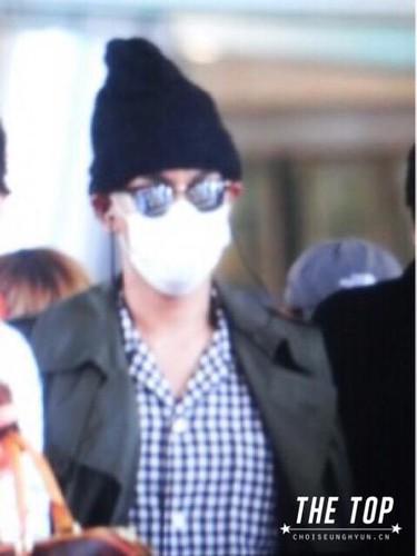 Big Bang - Incheon Airport - 26jul2015 - The TOP - 02