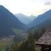 Paznaun Valley. Paznauntal. Early evening.