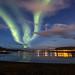 Aurora borealis by B&B Kristinsson