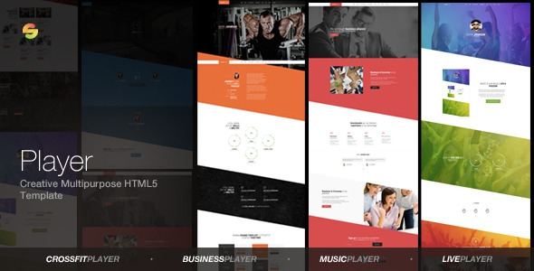 Player v1.0 - Creative Multipurpose HTML5 Template