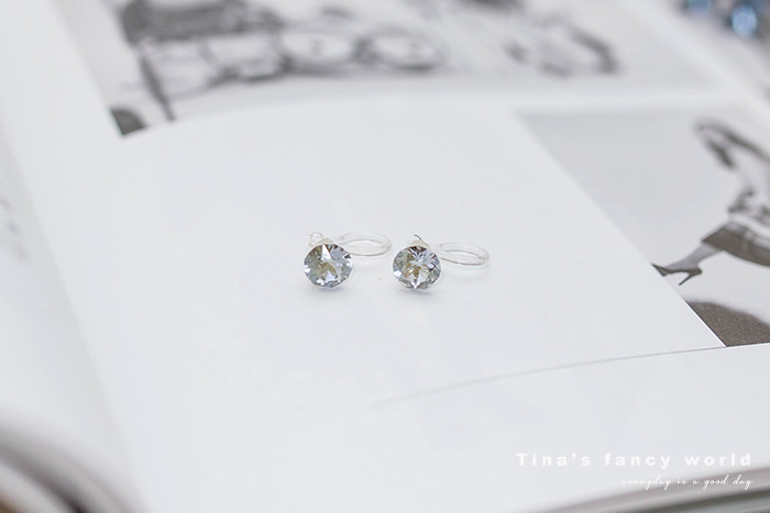 Mrs.Yue夾式耳環