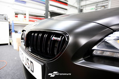 BMW M6 Satin black & Ceramic PRO