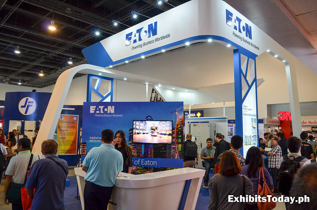Eaton Exhibit Booth