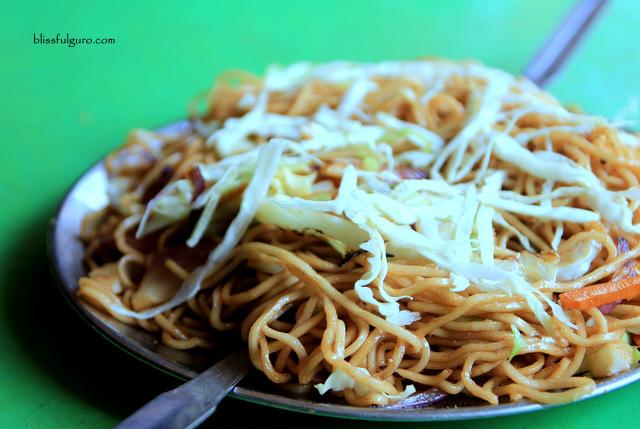 Nepal Food Chow Mein