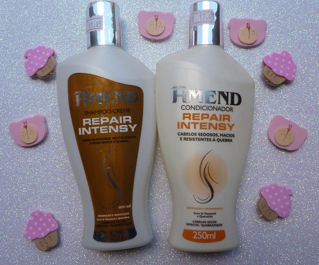Resenha: Shampoo Creme e Condicionador Repair Intensy da Amend