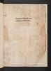 Title-page with ownership inscriptions in Angelus de Clavasio: Summa angelica de casibus conscientiae