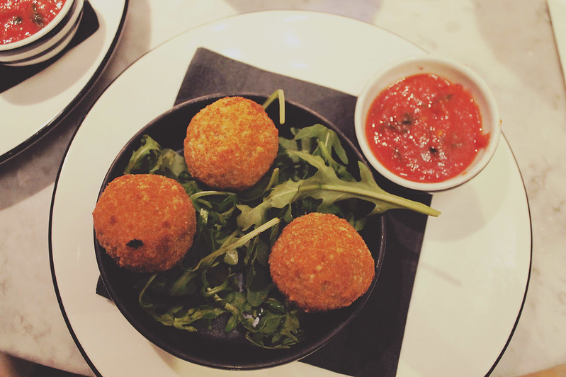 Pizza Express Arancini