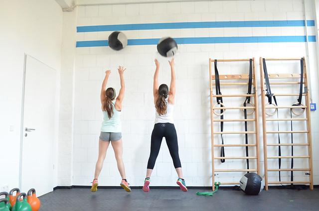 fitsters wall balls en crossfit