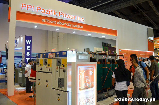 Front of PPI Pazifik Power Inc. Trade Show Booth