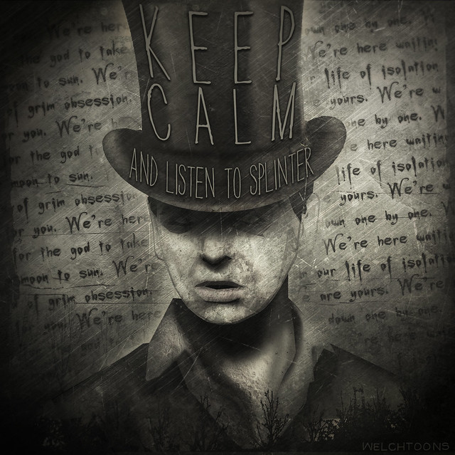 Gary Numan: Keep Calm and Listen To Splinter