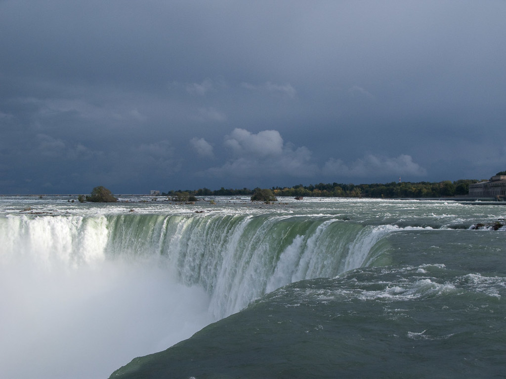 View from the top of Horseshoe Falls