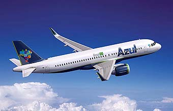 Azul Linhas Aereas A320neo (Airbus)