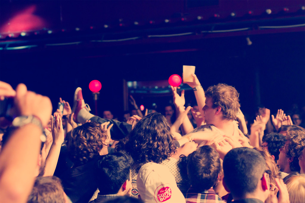 Mac DeMarco at Barcelona. Sala Apolo. 2014.