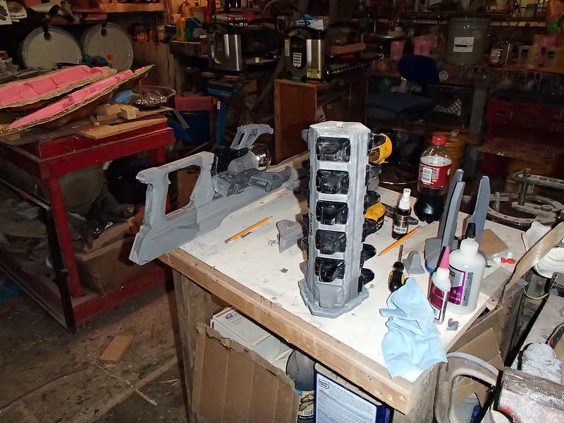 Lightning Gun Assembly Progress 42