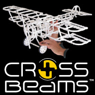 Crossbeams Building Toy