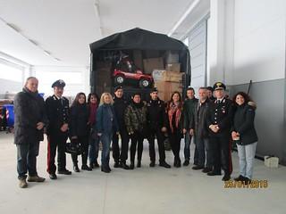Foto di gruppo di coloro che hanno reso possibile l'iniziativa
