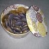 Köstliche Lakritz-Makcarons von der @lightblue100 #macarons #lakritz #lakrids #lakrits #licorice #liquorice #reglisse #deli #yummy #ymmiie #sweets #black #food #foodporn #homemade
