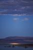 Blue Hour Moon Over Mono Lake