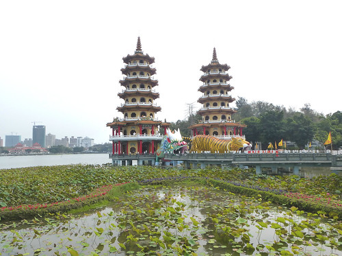 Ta-Kaohsiung-Lotus Pond-Dragon et Tigre (43)