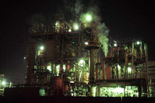 川崎工場夜景-17