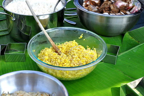 Tet 2015 - Banh Chung Making Party