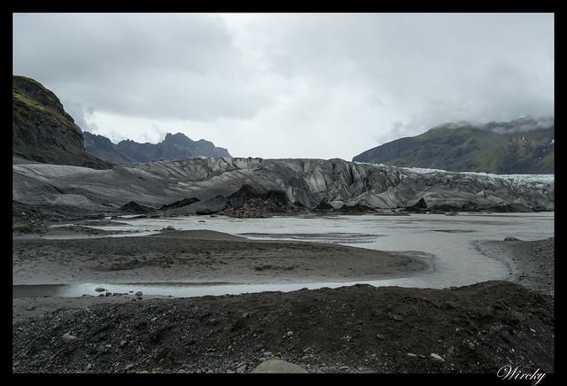 Lengua glaciar Skaftafellsjökull