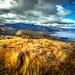 Lake Wakatipu of Queenstown by trevorklatko