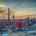 Richmond Virginia sunset by Mobilus In Mobili