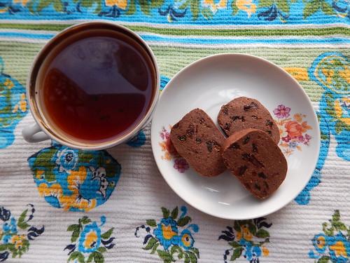 чай и печеньки