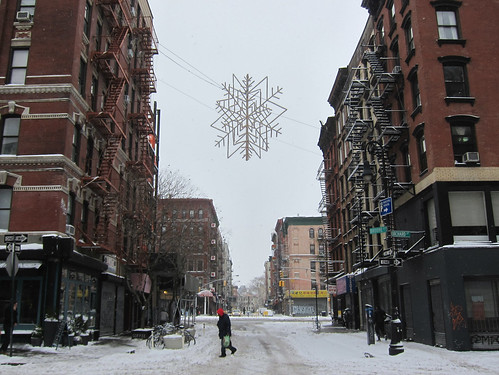 NYC Blizzard January 2015: Lower East Side