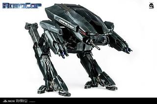 巨物降臨!threezero新版Robocop ED-209