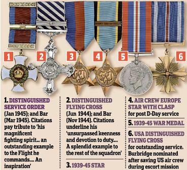 Medallas puestas a la venta por Bransome 'Branse' Burbridge