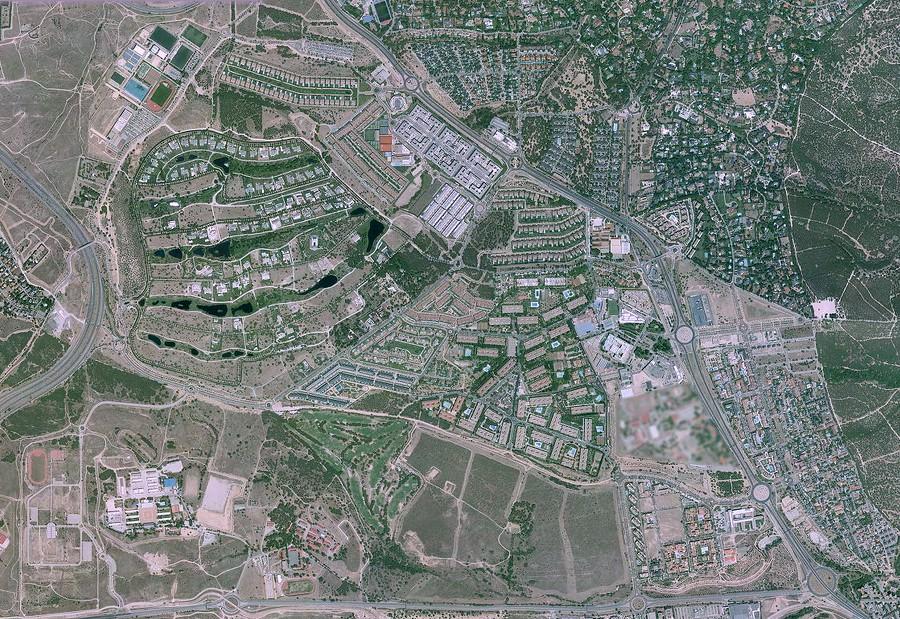 somosaguas, pozuelo de alarcón, madrid, we are waters, después, urbanismo, planeamiento, urbano, desastre, urbanístico, construcción, rotondas, carretera