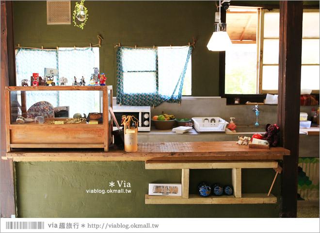 【台中老宅餐廳】台中下午茶~拾光機。日式老宅的迷人新風情,一起文青一下午吧!20