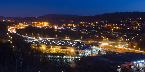 longexposure nightphotography light sculpture green cars grass southwales night train dark evening lowlight nikon traffic dusk streetlights unity railway valley lighttrails sainsburys pontypridd a470 arrivatrainswales a4054 brownlenox trenauarrivacymru d5100 a4058