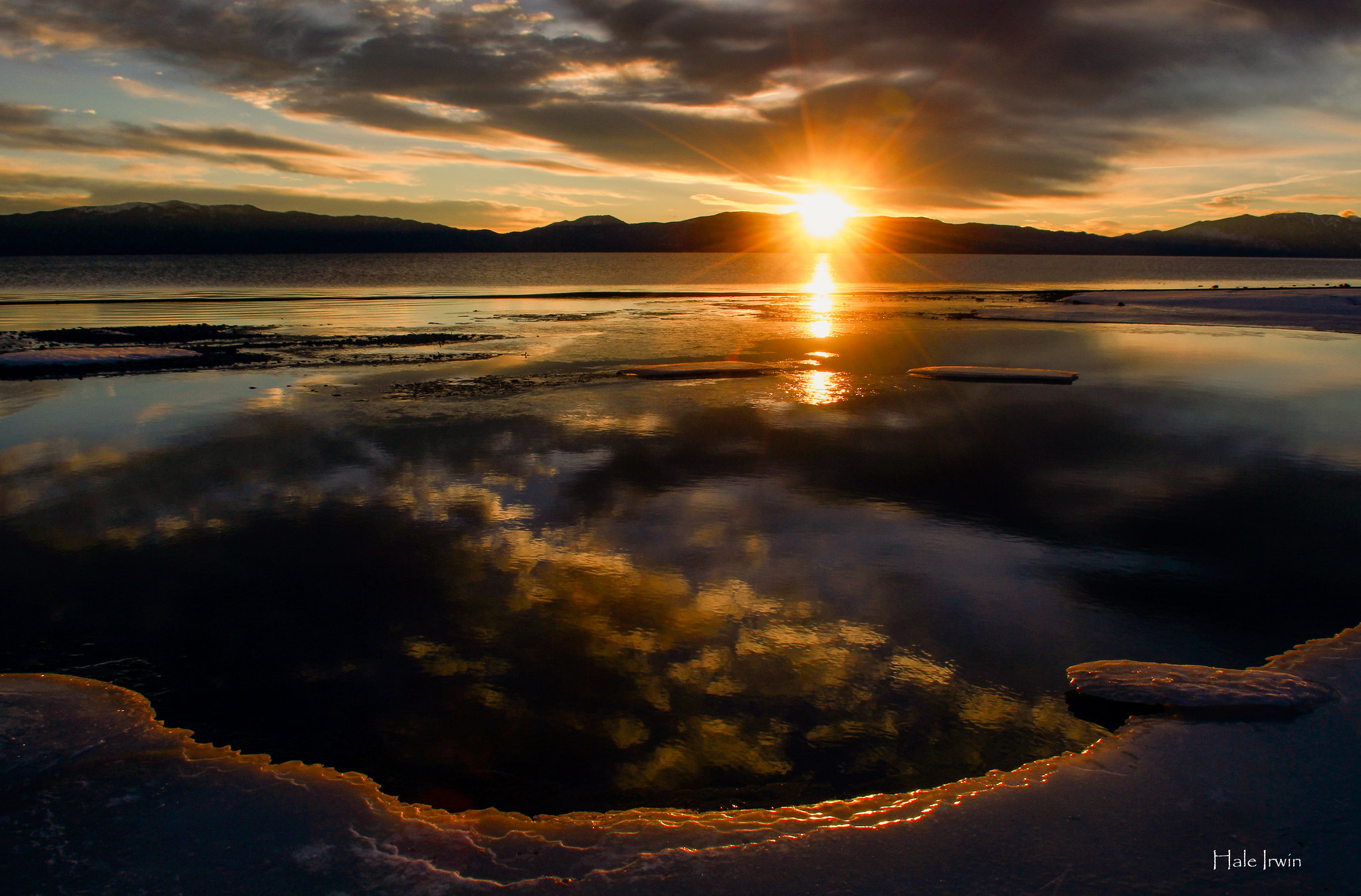 sunrise, lake tahoe