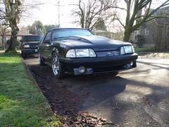 1992 Ford Mustang Hatchback GT.